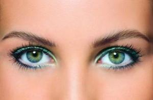 как самой сделать макияж глаз