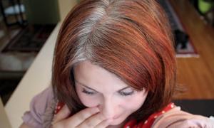 натуральны краситель для седых волос, - кофе