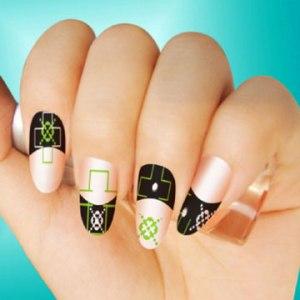 как сделать узоры на ногтях