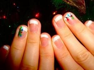 варианты маникюра на коротких ногтях