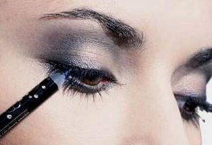 Как красиво накрасить глаза карандашом