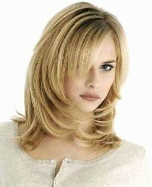 как можно подстричь длинные волосы  - каскад (лесенка)