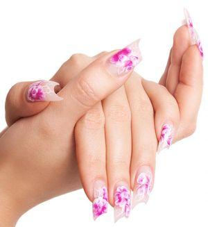 лучшее наращивание ногтей