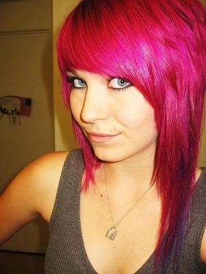 как получить розовый цвет волос
