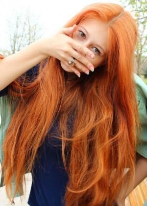 для рыжих волос маски для
