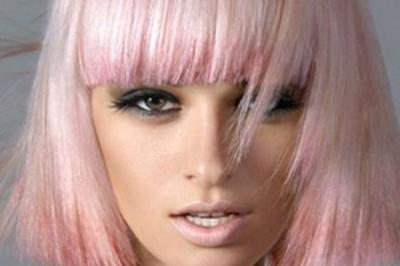 светло розовый цвет волос