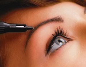 Перманентный макияж бровей волосковым методом