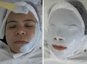 Как сделать альгинатную маску для лица